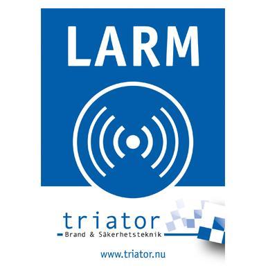 Triator Larmdekal
